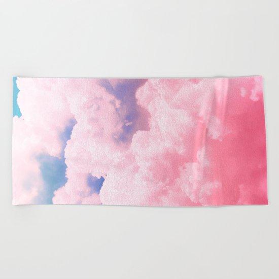 Candy Sky Beach Towel