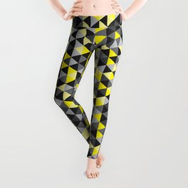 when life gives you concrete, make lemons Leggings