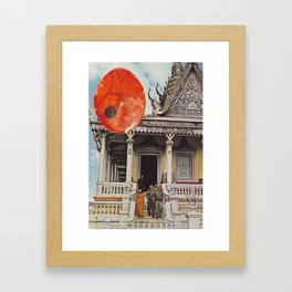 Collage #19 Framed Art Print