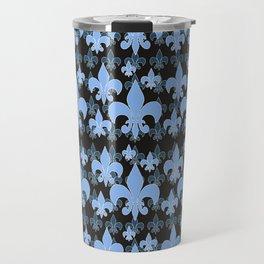 Fleur de lis BLUES Travel Mug