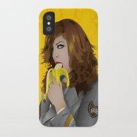 mac iPhone & iPod Cases featuring Mac Gie by Edu Gerbi
