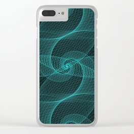 The Great Spiraling Unknown Clear iPhone Case