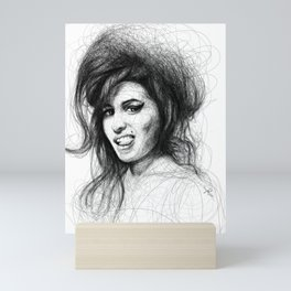 Amy Portrait Mini Art Print
