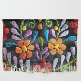 Mexican Flowers Wall Hanging