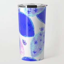 Sparkle cactus blue Travel Mug