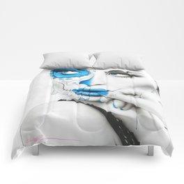'Vision Of Caeruleum' Comforters
