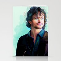 will graham Stationery Cards featuring Will Graham by The Wayward Daughter