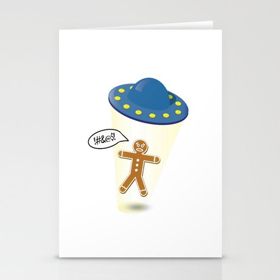A Christmas Kidnapping Stationery Cards