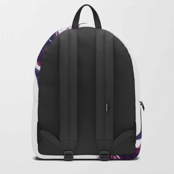 Red Wine Splash Backpack