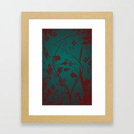 Flowers of Times Framed Art Print