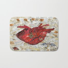 Secret Heart Bath Mat