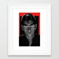 arctic monkeys Framed Art Prints featuring Alex Turner - Arctic Monkeys by Dr.Söd