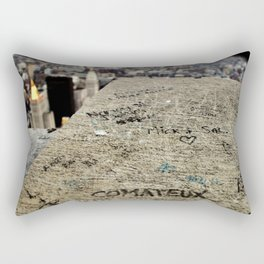 Friendship is Freedom - New York - Empire State Building Rectangular Pillow