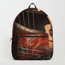 The acoustic guitar Backpack