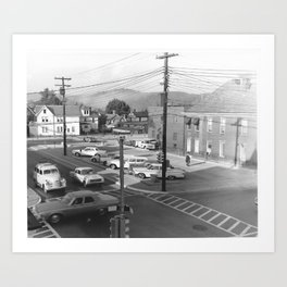 Parking Lot Art Print
