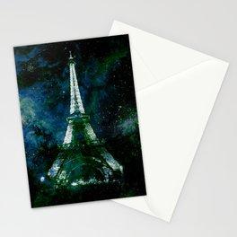 Paris Dreams Deep Green Ocean Blue Stationery Cards