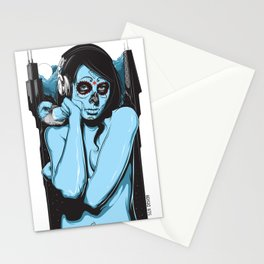 Chicago Muerta  Stationery Cards