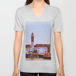 Port flair Unisex V-Neck