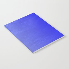 Blue Ice Glow Notebook