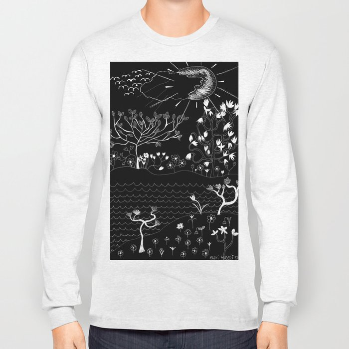Perfect Imperfection (Inverted version) Long Sleeve T-shirt