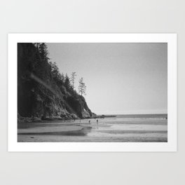 On the Coast No. 1 Art Print