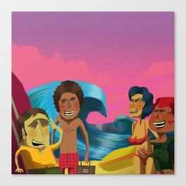 Brazillian Surf A-Go-Go Canvas Print