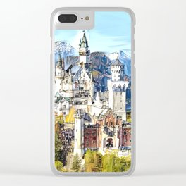 Neuschwanstein Castle Clear iPhone Case