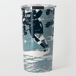 The Break- Away - Hockey Players Travel Mug