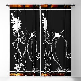 For The Love Of Plants Blackout Curtain
