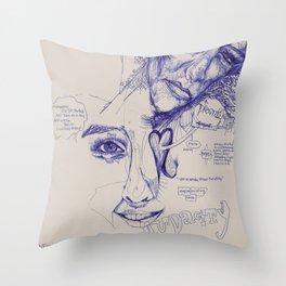 Audacity  Throw Pillow