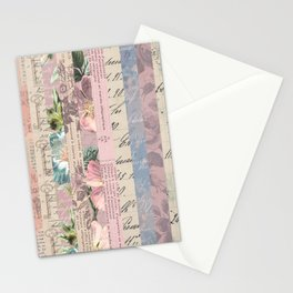 Vintage Shabby Florals Stationery Cards