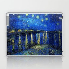 Starry Night Over the Rhone by Vincent van Gogh Laptop & iPad Skin