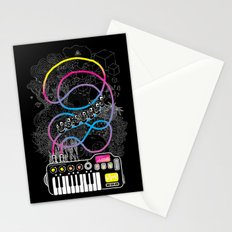 Music Coaster Stationery Cards