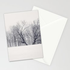 Into the Blizzard Stationery Cards