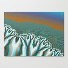 Fractal Forest Abstract Art Canvas Print