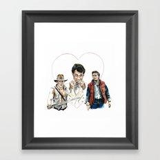 The Trifecta  Framed Art Print