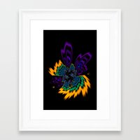 firefly Framed Art Prints featuring Firefly by Steve Purnell