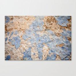 Peeling paint on wall (2) Canvas Print