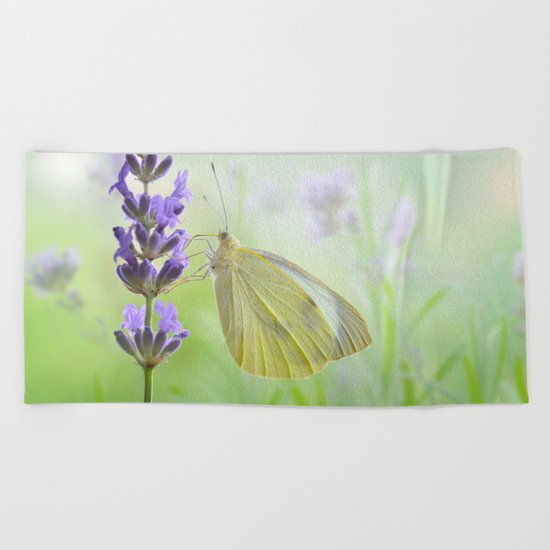 Butterfly 47 Beach Towel