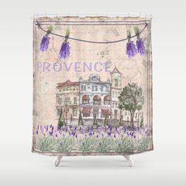 Provence France - my love  - Lavender and Summer Shower Curtain