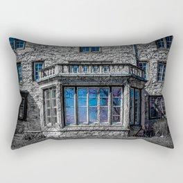 H. Clarke Mansion Evanston Illinois Bay Window Lakeside  Rectangular Pillow