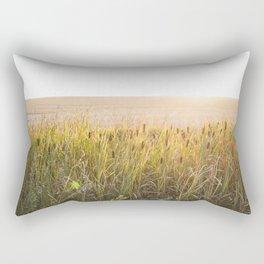 Bulrush filter Rectangular Pillow