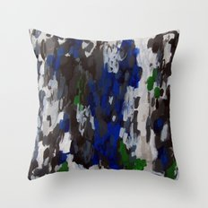 No. 69 Modern Abstract Painting Throw Pillow