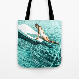 Pool Day #society6 #painting #summer Tote Bag
