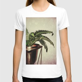 Modern House Plant With Long Leaves T-shirt