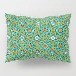 Moroccan Tile 1A - Blue Pillow Sham