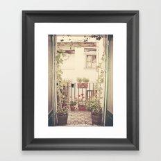 Apartment in Zaragoza, Spain Framed Art Print