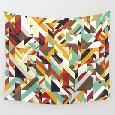 Native Geometric Wall Tapestry