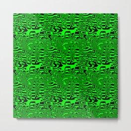 Green areas ... Metal Print