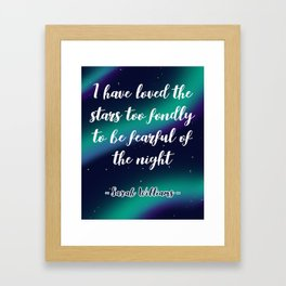 Love the Stars Framed Art Print